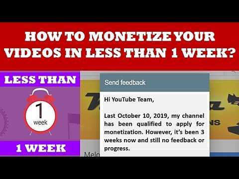 How To Monetize Your YouTube Videos In LESS THAN 1 Week! (Tagalog)