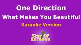 One Direction - What Makes You Beautiful (Karaoke)