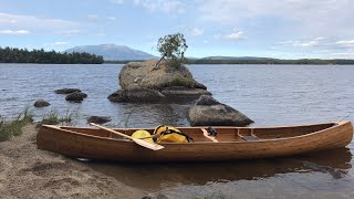 MAINE REMOTE CANOE TRIP, Pąrt 1