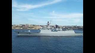 Chinese Navy frigate