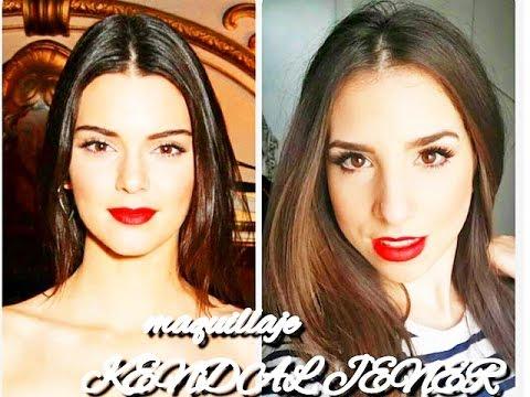 Maquillaje inspirado en KENDALL JENNER SUPER FACIL