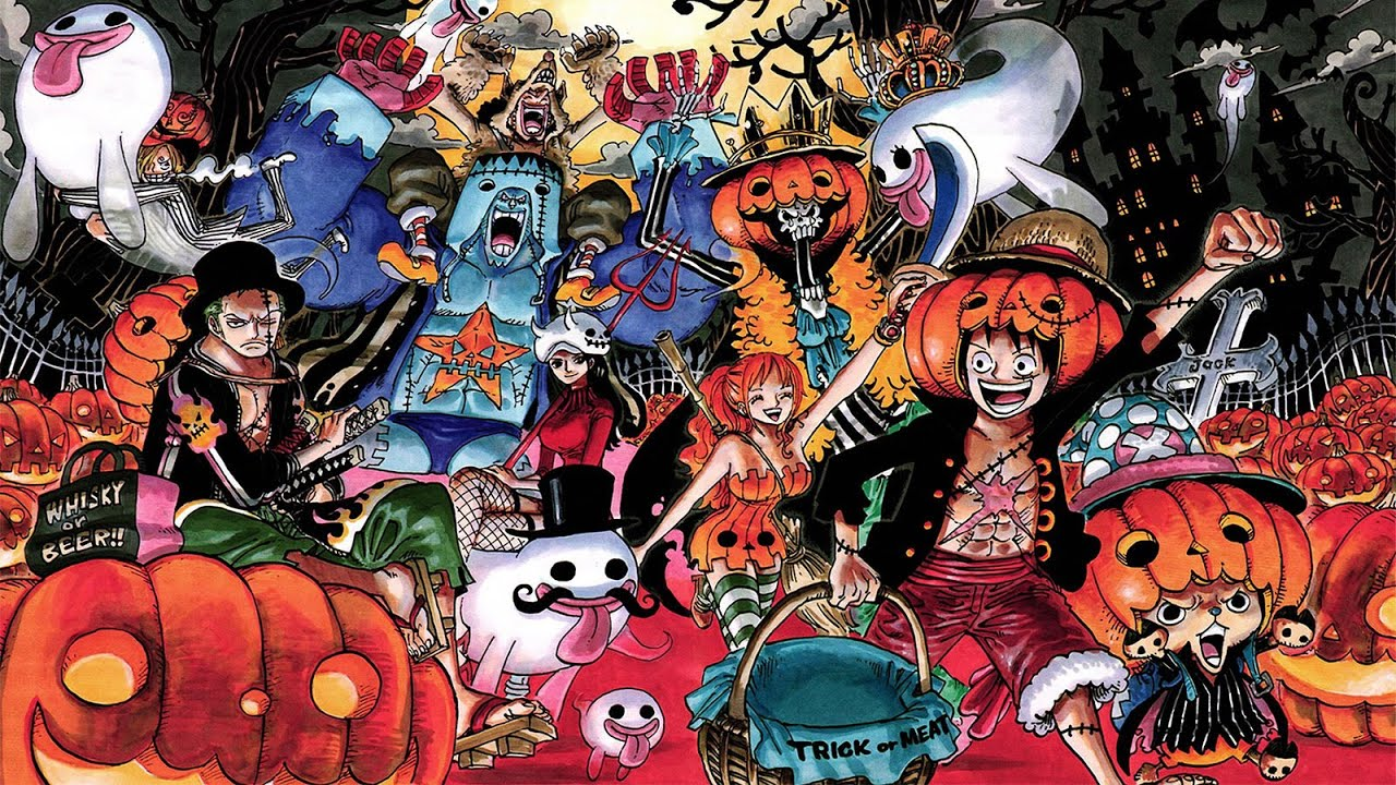 Amv halloween one piece nightmare luffy vs oz l 39 quipage - One piece equipage luffy ...
