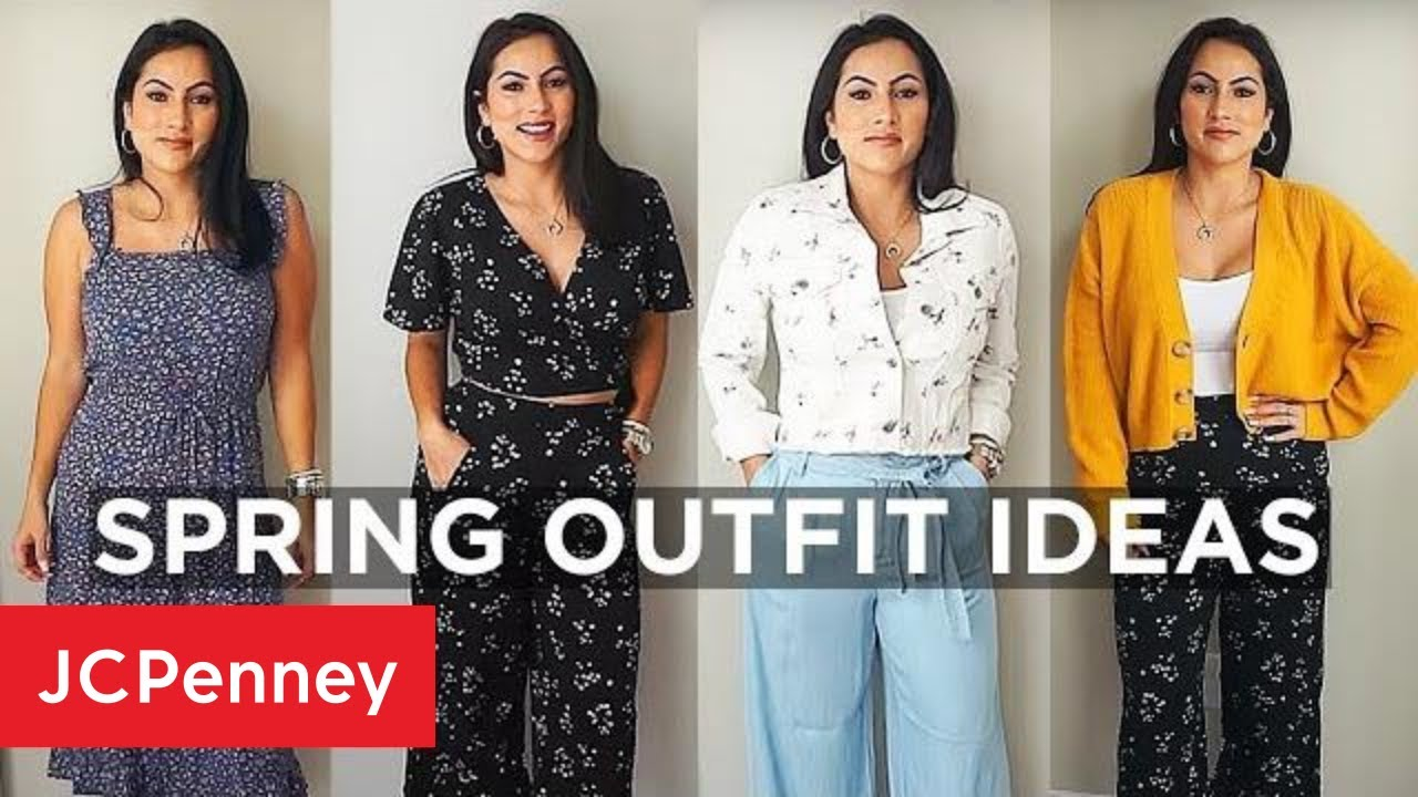 Spring Outfit Ideas with XoJuliana   JCPenney