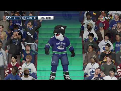 NHL® 18 Fish (Tampa) vs. Allegory (Canucks) Local Match