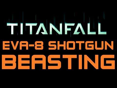 Titanfall Beta Beasting - 36 Killstreak with the EVA-8 Shotgun on Fracture (Titanfall Gameplay)