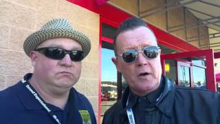 Robert Patrick talks about supporting Folds of Honor
