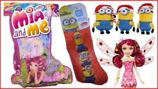 Apriamo insieme le mie calze della Befana: Mia and ME & Minions