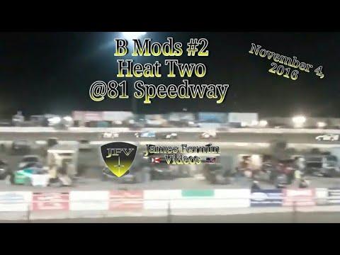B Mod Heat Race 2, #2, 81 Speedway