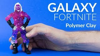 Galaxy Skin & Green Screen Clay (Fortnite Battle Royale) – Polymer Clay Tutorial