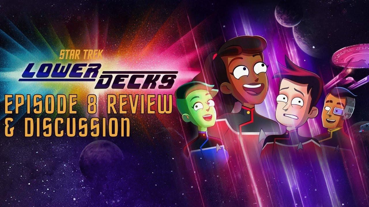 """Star Trek: Lower Decks s01e08 """"Varitas"""" LIVE Review"""