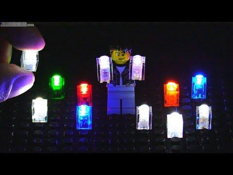 Lights for LEGO, no battery, no wires to bricks -- i-Brix! 💡