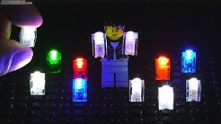 Lights for LEGO, no battery, no wires to bricks -- i-Brix! 💡