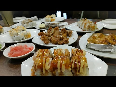 MUKBANG TANBOY KUN | Makan Sushi 10 Porsi Lebih di Sushi Joobu Ft. KEN & GRAT