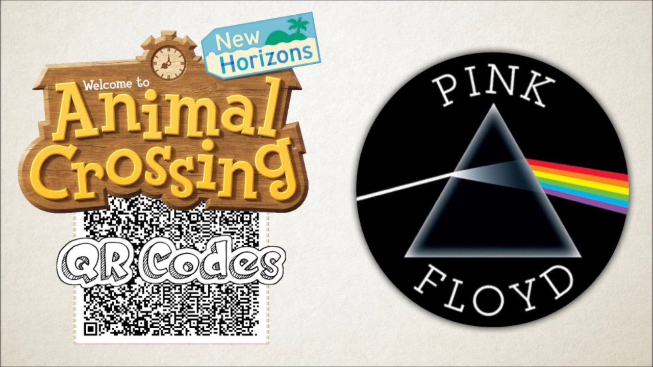 Pink Floyd Albums Animal Crossing Qr Codes Youtube