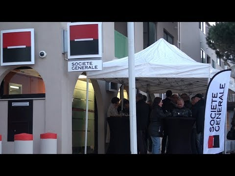 La Société Générale inaugure ses locaux à Calvi