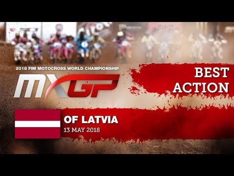Jeffrey Herlings & Antonio Cairoli Impressive Action - MXGP of Latvia 2018 #motocross
