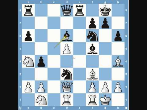 Chess World Championships 1985 - Karpov vs Kasparov (Sicilian Defense)