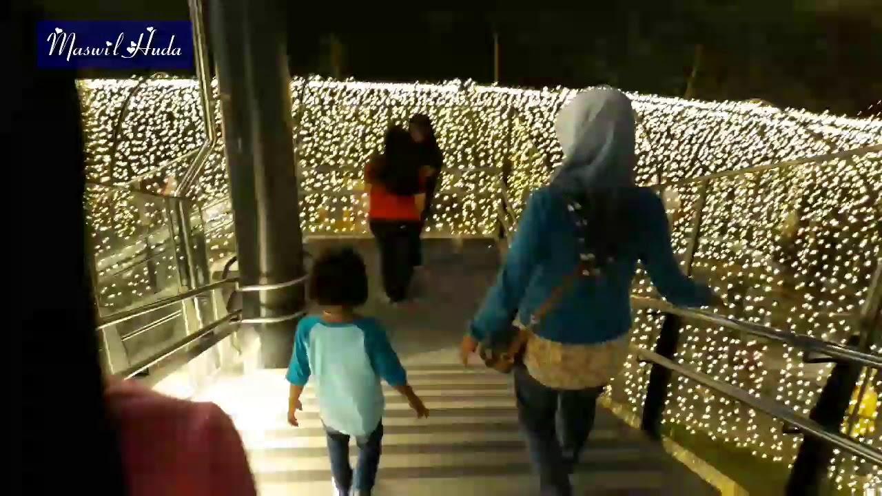 Aeon Mall Taman Lampu Aeon Mall Garden Citty Youtube