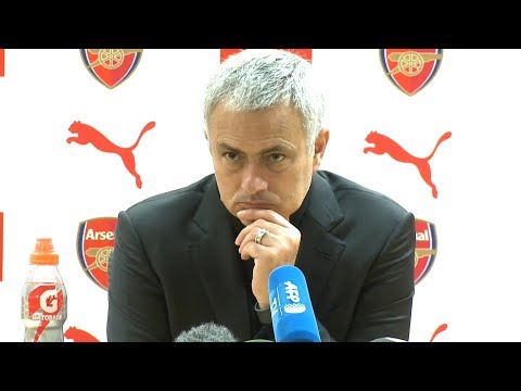 Arsenal 1-3 Manchester United - Jose Mourinho Post Match Press Conference - Premier League #ARSMUN