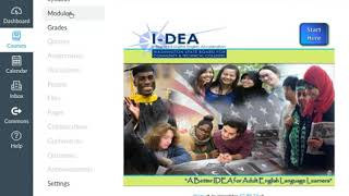 I-DEA 101: I-DEA Course Navigation
