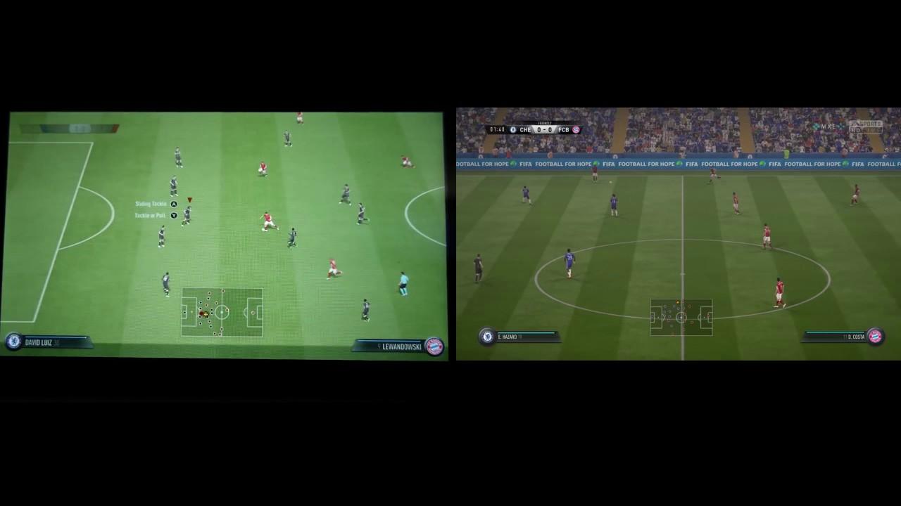 Fifa 18 Switch VS PS4