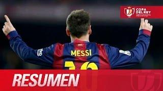 Resumen de FC Barcelona (1-0) Atlético de Madrid(Resumen de FC Barcelona (1-0) Atlético de Madrid SUSCRIBETE AL MEJOR CANAL HD La Liga | 21-01-2015 | J1 | Copa del Rey 2014/2015 Resumen del ..., 2015-01-21T23:48:16.000Z)