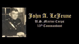 Marine Corps Birthday Message -- John A. LeJeune 1921