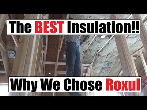#313 - Installing Roxul Insulation Upstairs - Which Insulation Is Best?