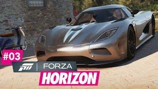 Forza Horizon 2 #3 - Mit dem Koenigsegg Agera gegen die Zeit - [Xbox One][1080P][German][HD+]