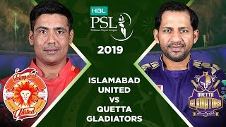 Match 6: Full Match Highlights Islamabad United vs Quetta Gladiators | HBL PSL 4 | 2019