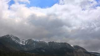 Philip Glass - Concerto #2, Movement 1, The Vision with Eastern Sierra Cloudscape