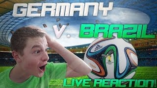 My LIVE Reaction to Germany's 4 Goals in 6 Minutes!!
