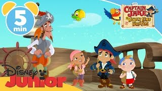 Captain Jake and the Never Land Pirates | Captain Quixote | Disney Junior UK