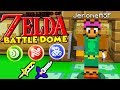THE BEST MINECRAFT MODDED BATTLEDOME - LEGENDS OF ZELDA MINECRAFT BATTLEDOME!