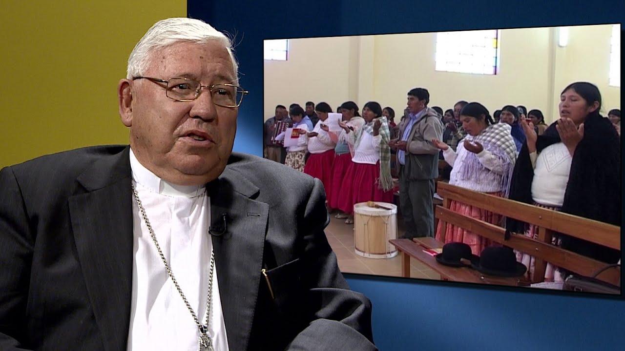 Mons. Jesús Juárez, Arzobispo de Sucre, Bolivia