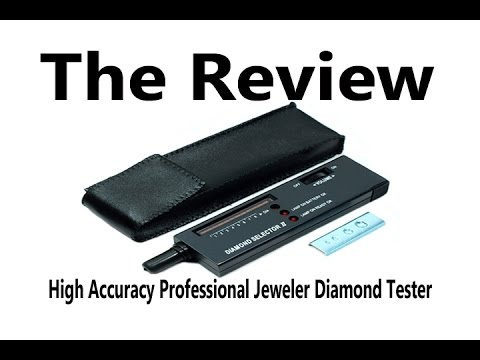 Hde High Accuracy Professional Jeweler Diamond Tester For Novice And