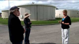Wastewater Treatment Plant Tour Part 1 - March 2011