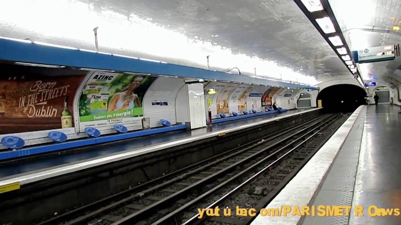 Notre dame de lorette m tro de paris line 12 youtube - Metro notre dame de lorette ...