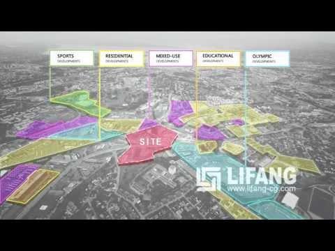 Økern Masterplan, Oslo Phased Masterplan CGI Animation Norway