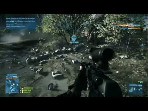 Battlefield 3 PC Multiplayer Gameplay Wake Island Medic