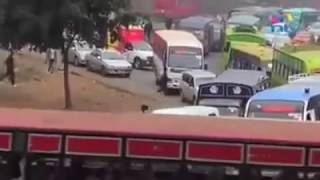 PHONE SNATCHER IN THE STREETS OF NAIROBI