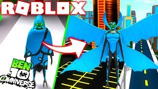 Roblox! BEN 10 - ATUALIZAO NOVO ALIEN FRIAGEM (BIG CHILL) - BEN 10 ARRIVAL OF ALIENS