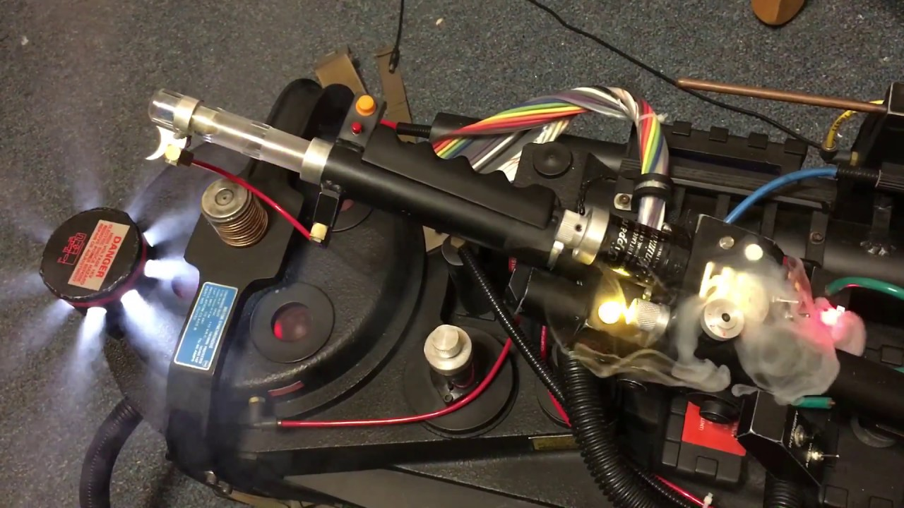 Ghostbusters Proton Pack With Pop Mech Amp Wand Pack Vent