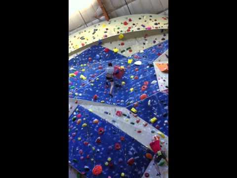 Me Lead Climbing 5.10 60 ft. sport at Stone Summit Atlanta, GA