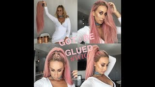 HOW  to Use Got 2Be Glued gel to set your wig flat & secure Removal & Washing FREEDOM COUTURE