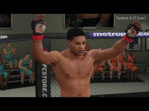 EA SPORTS UFC 2|THE FASTEST K.O. EVER!!!-Muhammad Ali Career #1