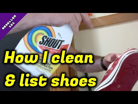 RESELLER 101: Here's A Look At How I Clean And List Shoes To Sell On EBay