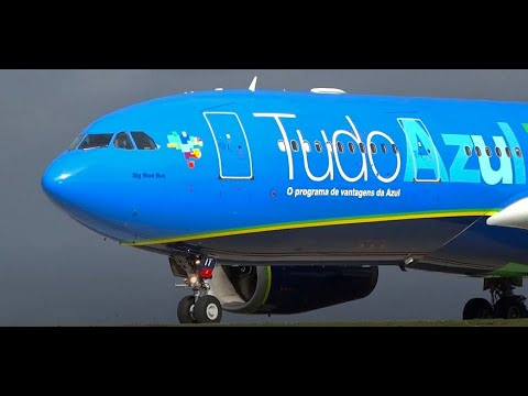 (HD) 30+ Mins of Plane Spotting - Watching Airplanes at Orlando International Airport KMCO/MCO