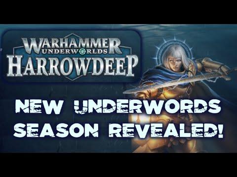 New Season of Warhammer Underworlds Revealed! Harrowdeep! |