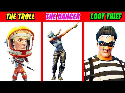 10 WORST Types of FORTNITE Players (ARE YOU ONE?) | Chaos